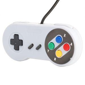 Controller SNES USB Gamepad Joystick Joypad mit Kabel für PC Windows