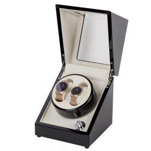 Uhrenbeweger Watch Winder Uhrendreher Automatik für 2 Uhren (2+0)