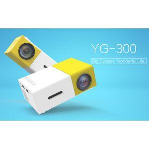 LED Mini-Videoprojektor tragbar Heimkino-Unterhaltung Projektor HD