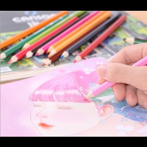 72tlg Skizzenzeichner Buntstifte Stifte Set für Erwachsene und Kinder