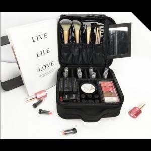 Kosmetiktasche Make Up Tasche Pinsel Organizer Tasche mit Reissverschluss