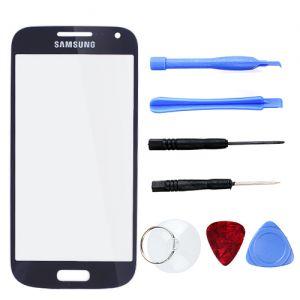 Display Glas Ersatzglas Werkzeug Set Frontscheibe für Samsung S4 mini