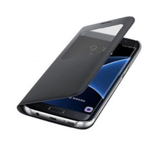 Handyhülle Schutzhülle Case Tasche Cover Leder für Samsung Galaxy S7