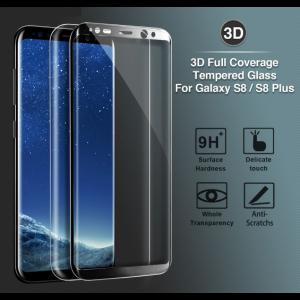 Panzerglas Folie Cover Schutzglas Ersatzglas für Samsung Galaxy S8