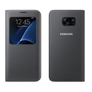 Hülle Handy Schutzhülle Leder Wallet Tasche Flip für Samsung Galaxy S7