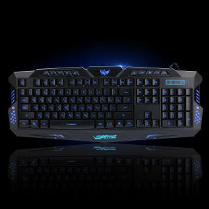 Gaming Maus mit LEDs Beleuchtung Hintergrundbeleuchtung Gaming Keyboard