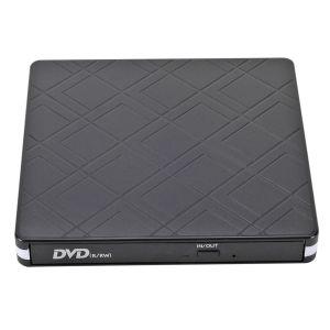 Extern Laufwerk CD DVD USB 3.0 mit Type-C Portable DVD/CD Brenner