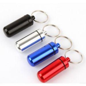 Pillendose Pillenbox Pille Box Schlüsselanhänger Tablettendose 4 Stk.