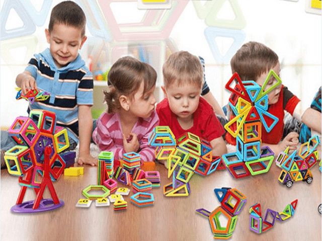 Magnetisch Bauklötze---Das beste Spielzeug für Kinder