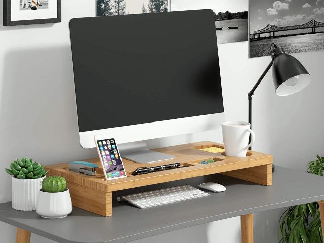 DIY: Monitorständer selber machen--Eine Bildschirmerhöher Anleitung