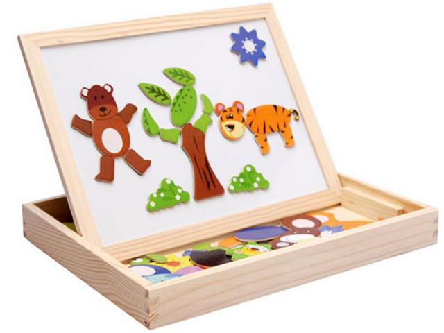 Wie helfen Holzpuzzle der Entwicklung eines Kindes?